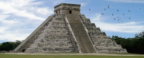 mayan temple 9 levels of consciousness