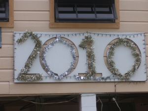 gregorian new year on caye caulker, belize