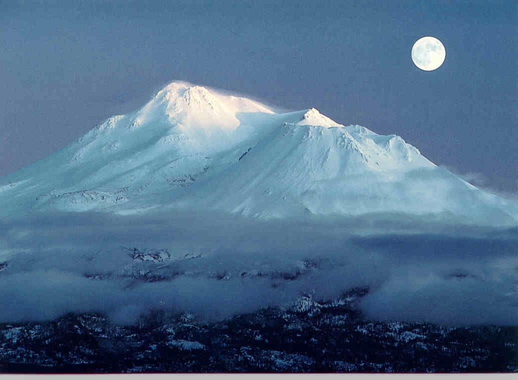 Ascension Rock Mt Shasta The Beauty Way