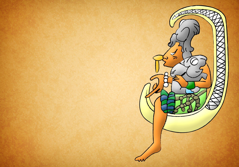 13490995 - ix chel mayan - aztec goddess of moon and fertility